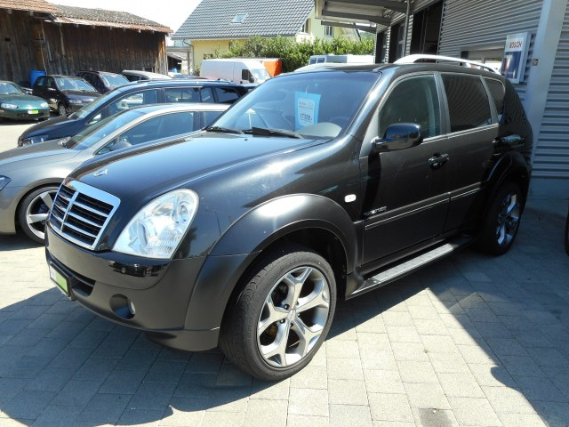 ssangyong rexton rx 270 xvt genesis occasion chf 17 39 500. Black Bedroom Furniture Sets. Home Design Ideas