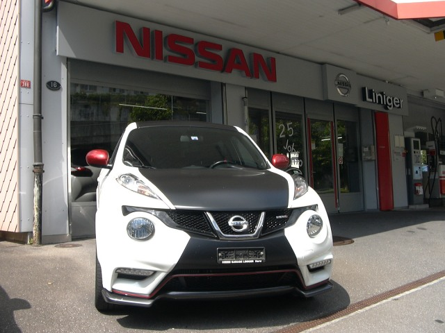 nissan juke 1 6 dig t nismo occasion chf 17 39 500. Black Bedroom Furniture Sets. Home Design Ideas