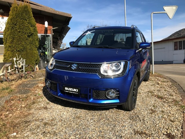 suzuki ignis 1 2 compact top 4x4 v hicle neuf chf 20 39 580. Black Bedroom Furniture Sets. Home Design Ideas